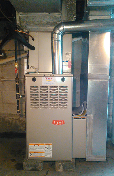 After - New Gas Furnace