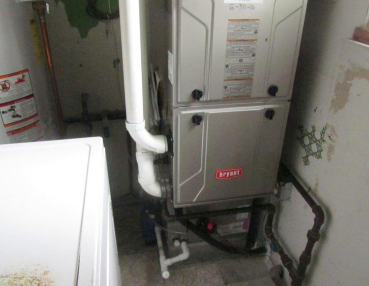 Gas Furnace - After