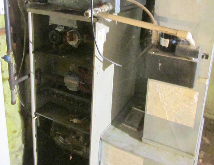 Gas Furnace - Before