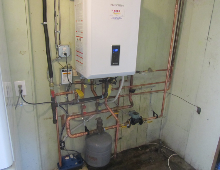 Navien Tankless Water Heater & Boiler - After